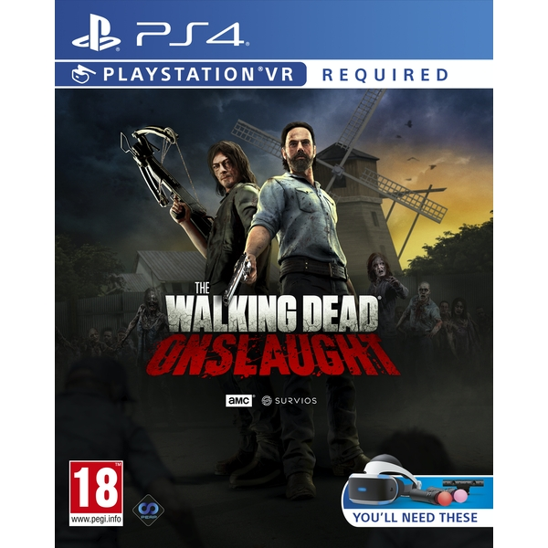 The Walking Dead Onslaught PS4 Game (PSVR Required) - Image 1