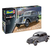 German Staff Car Kadett K38 Saloon 1:35 Revell Model Kit