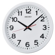 Seiko QXA732W Wall Clock with Arabic Numerals - Matt White