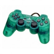 PS2 Official Dualshock Controller In Emerald