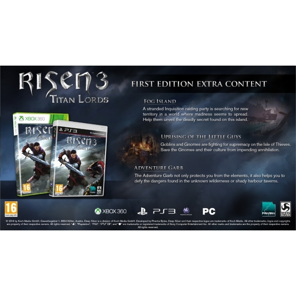 Risen 3 Titan Lords First Edition Xbox 360 Game - Image 6