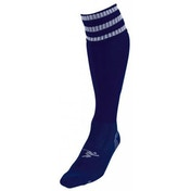 PT 3 Stripe Pro Football Socks Boys Navy/White