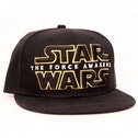 Star Wars VII The Force Awakens Main Logo Snapback Baseball Cap