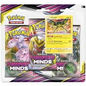 Pokemon TCG: Sun & Moon 11 Unified Minds 3 Pack Blister - 1 At Random