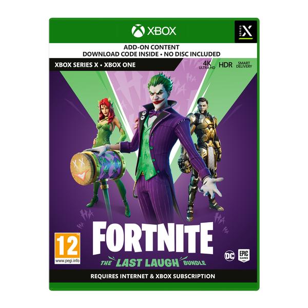 Fortnite The Last Laugh Xbox One | Series X Game [Code In A Box]
