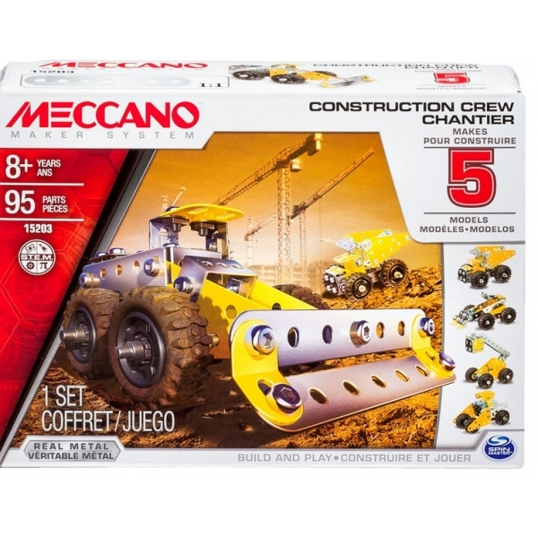 Meccano 5 Model Set Construction Crew