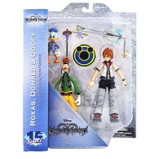 Roxas Donald And Goofy (Kingdom Hearts) Action Figure