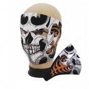 Full Face Neoprene Bike/Ski/Snowboard Mask - Skull