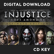 Injustice Gods Among Us Ultimate Edition Game Of The Year (GOTY) PC CD Key Download for Steam