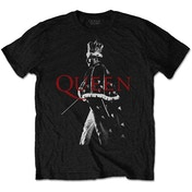 Queen - Freddie Crown Men's X-Large T-Shirt - Black