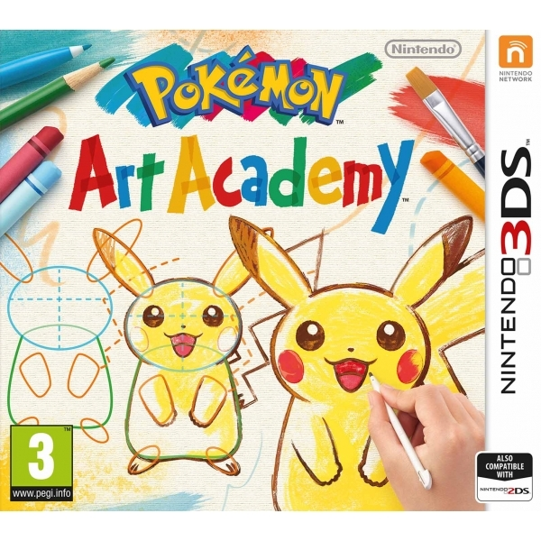 Pokemon Art Academy 3DS Game