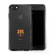 Official F.C. Barcelona Merchandise TPU Clear iPhone 7 Cover