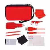 Crown Deluxe 12-in-1 Accessory Pack Red 3DS