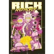Rick and Morty Action Movie Maxi Poster