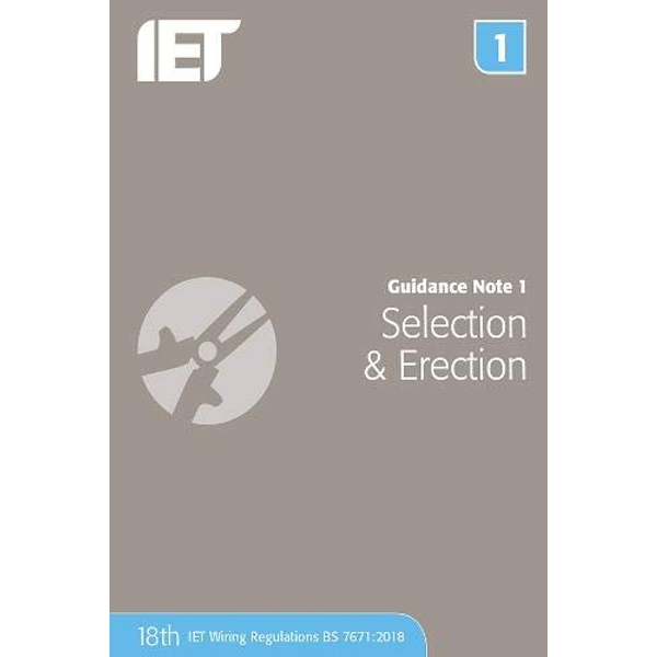 Guidance Note 1: Selection & Erection  Paperback / softback 2018