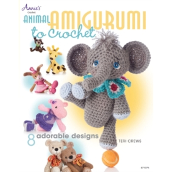 Animal Amigurumi to Crochet: 8 Adorable Designs by Teri Crews (Paperback, 2013)