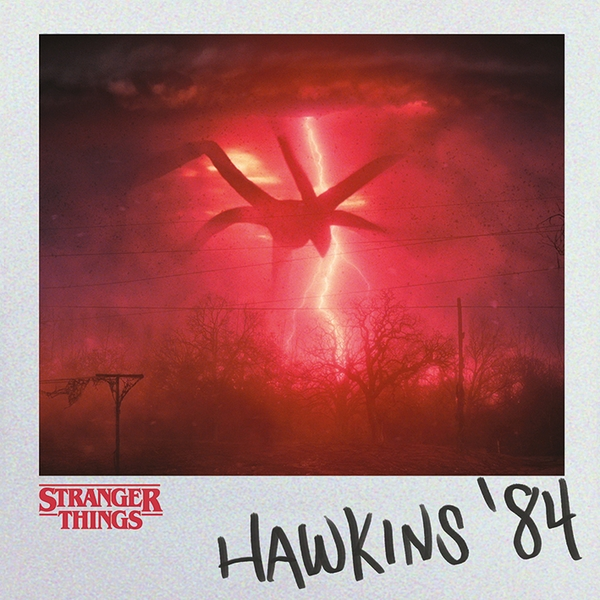 Stranger Things - Hawkins 84 40 x 40cm Canvas