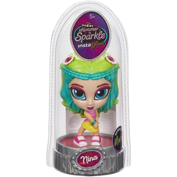 Shimmer and Sparkle InstaGlam Doll - Nina