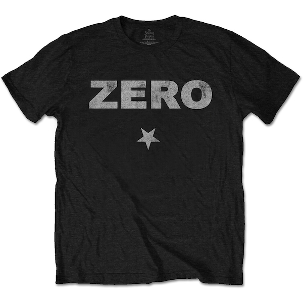 The Smashing Pumpkins - Zero Distressed Unisex Small T-Shirt - Black