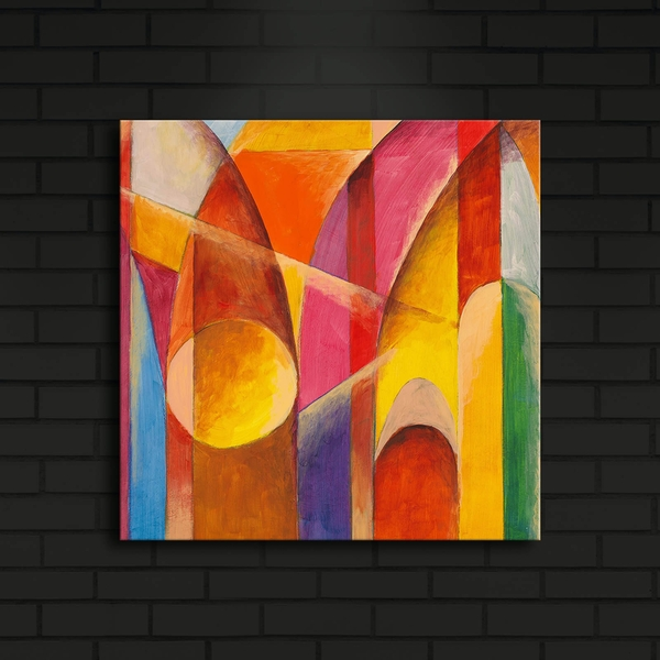 4040?ACT-7 Multicolor Decorative Led Lighted Canvas Painting