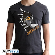 Overwatch - Tracer Men's X-Large T-Shirt - Grey