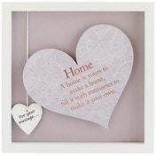 Said with Sentiment Square Heart Frames Home