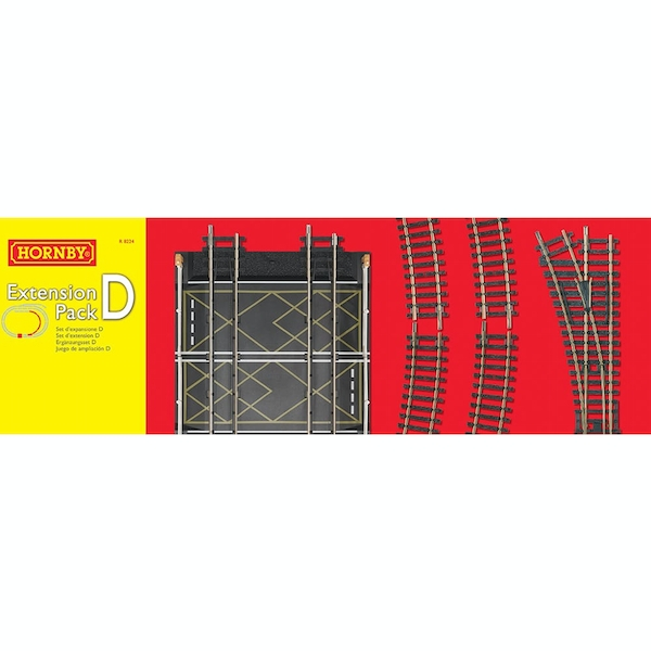 Hornby Railways Track Extension Pack D
