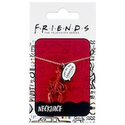 Official Friends You're My Lobster Charm Necklace