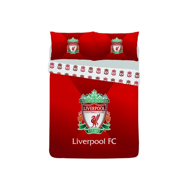 Liverpool Gradient Single Duvet and Pillow Case Set
