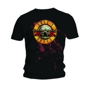 Guns N Roses Bullet Mens Black T-Shirt XX Large