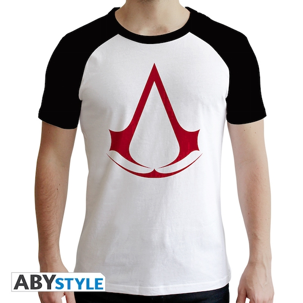 Assassin's Creed - Crest Men's Large T-Shirt - Black