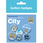 Manchester City Crests Badges