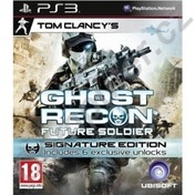 Tom Clancys Ghost Recon Future Soldier Signature Edition Game PS3