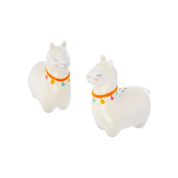 Sass & Belle Lima Llama Salt & Pepper Shaker Set