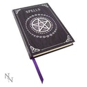 Embossed Spell Book Purple