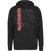 One Direction Photo Stack Black Ladies Hooded Top: X Large