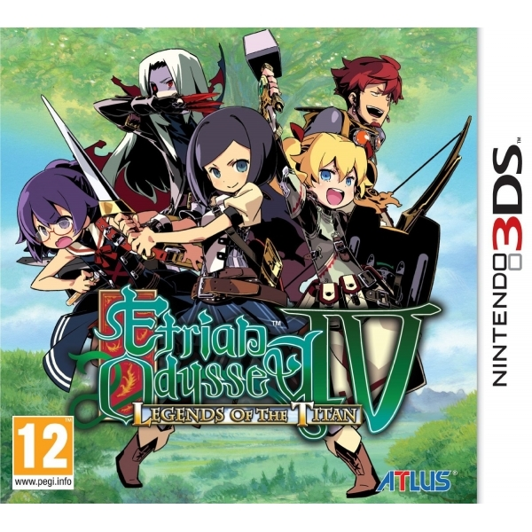 Etrian Odyssey IV (4 Four) Legends Of The Titan Game 3DS - Image 1