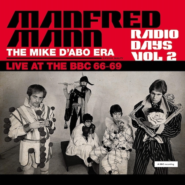 Manfred Mann - Radio Days Vol. 2 The Mike D'Abo Era Live At The Bbc 66-69 Vinyl