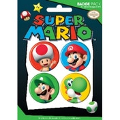 Nintendo Pack 2 Includes 4 Badge Pack