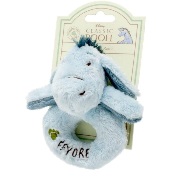 Hundred Acre Wood Eeyore Ring Rattle