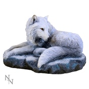 Guardian Of The North Wolf Statue