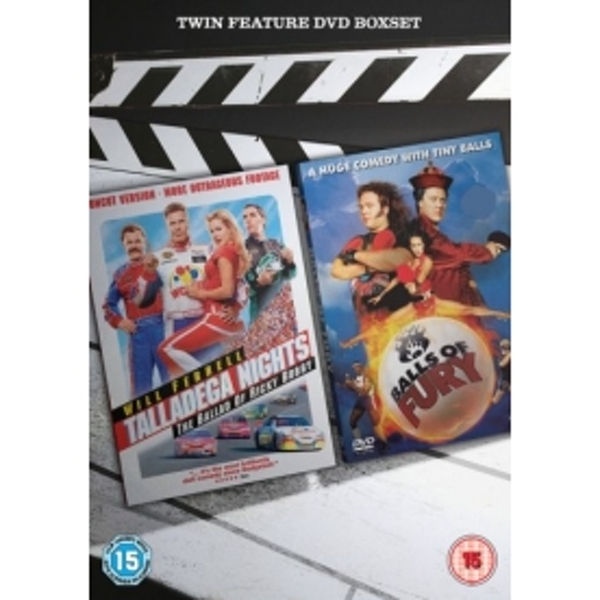 Talladega Nights & Balls of Fury DVD