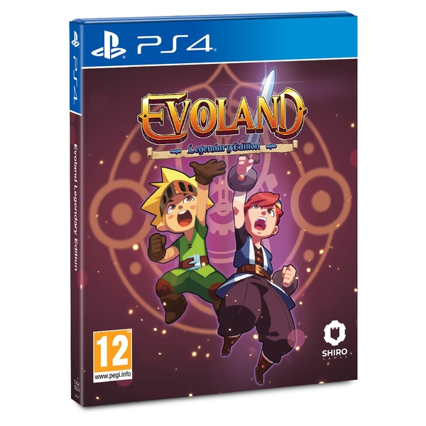 Evoland Legendary Edition PS4 Game