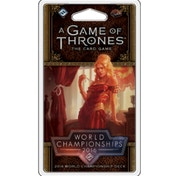 A Game of Thrones The Card Game Second Edition 2016 World Champion Joust Dec