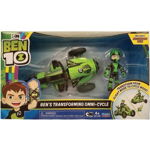 Ben 10 Ben's Transforming Omi-Cycle
