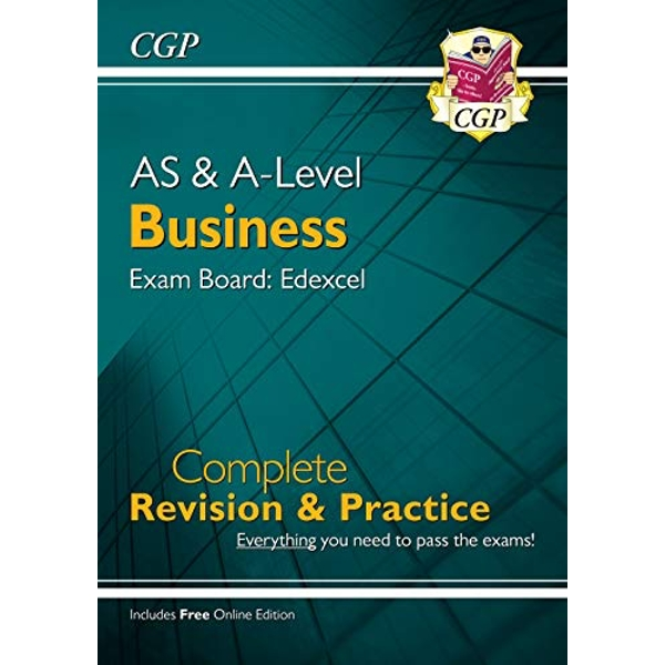 New AS and A-Level Business: Edexcel Complete Revision & Practice with Online Edition  Paperback / softback 2019