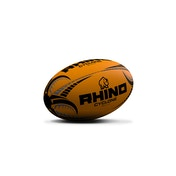 Rhino Cyclone  Rugby Ball Fluo Orange - Size 5