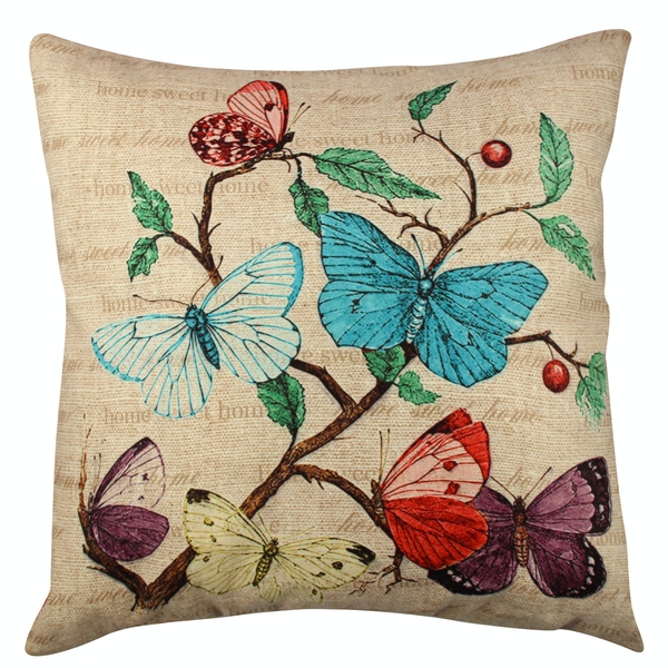 A11916 Multicolor Cushion Butterfly