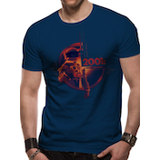 2001 Space Odyssey - Human Error Men's Medium T-Shirt - Blue