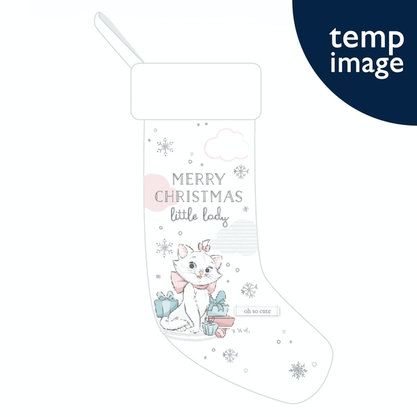 Disney Oui Marie Stocking - Merry Christmas Little Lady